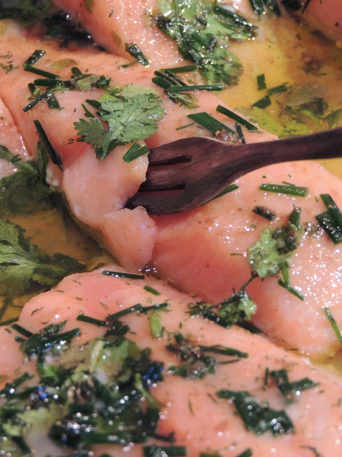Recette de saumon pour 12 personnes