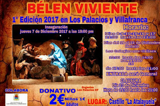 Belén Viviente 2017 - Los Palacios y Villafranca