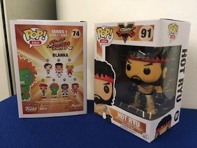 San Diego Comic-Con 2016 Exclusive Street Fighter Hot Ryu Pop! Vinyl Figure by Bait x Funko
