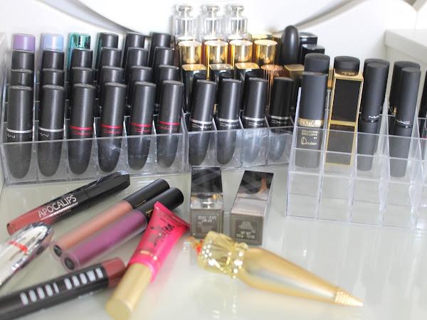 Mijn volledige lipstick collectie