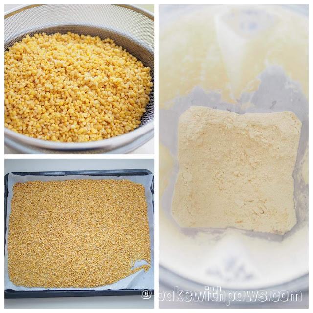 Homemade Mung Bean Flour