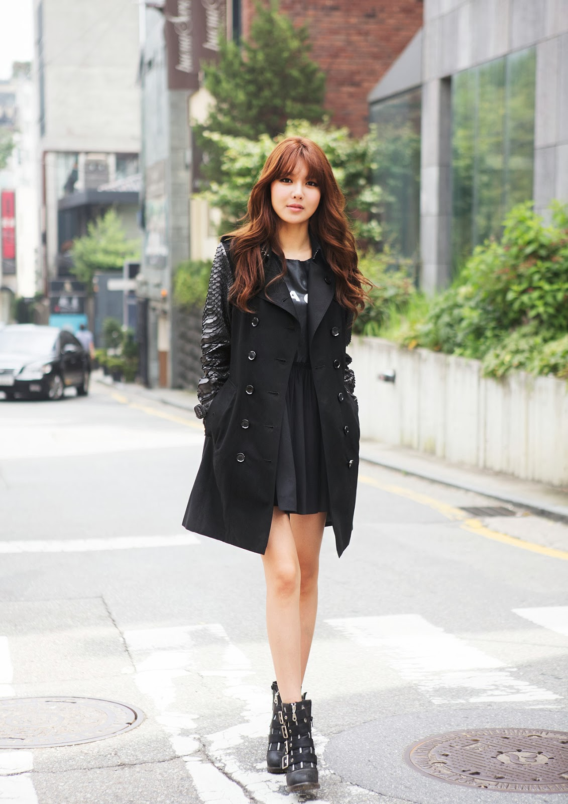 Girls Generation S Lovely Sooyoung For Burberry Pinks
