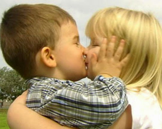 Sweet Kissing Of Cute Little Kids My Online Mela