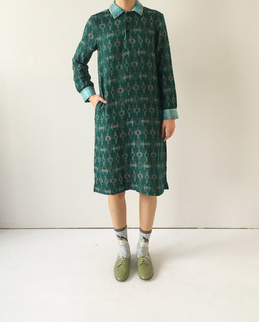 Ace & Jig Munro Dress in Emerald