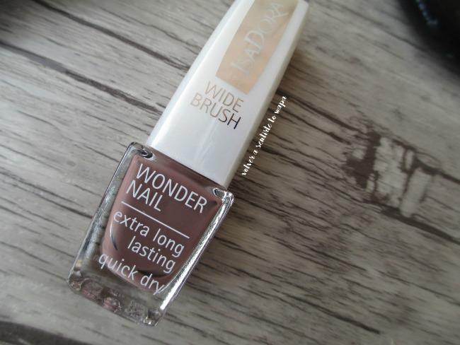 Esmalte Wonder Nail - 539 Soft Suede de Isadora