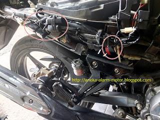 Cara pasang alarm motor pada Yamaha Jupiter MX Fi