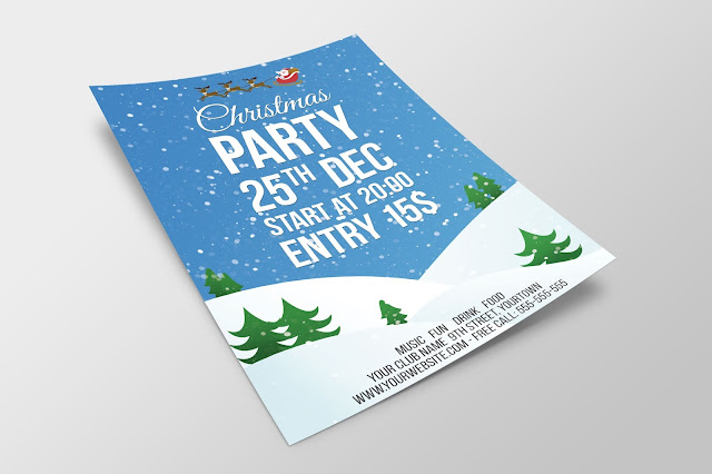 Video Tutorial: Create a Christmas Party Flyer in Photoshop