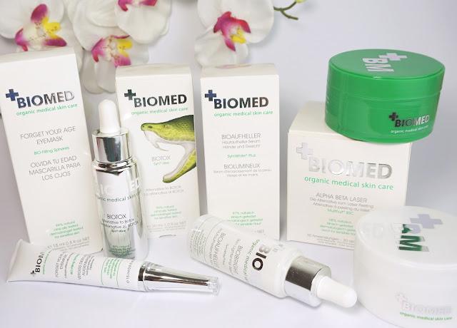 Biomed Biotox, Verbiss dein Alter Augenmaske, Alpha Beta Laser Peeling Pads, Bioaufheller Serum