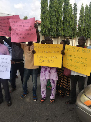 100 Oando Shareholders Petition National Assembly, Allege Corporate Governance Abuse