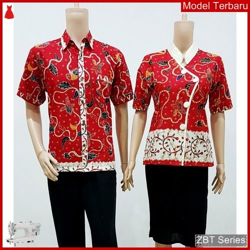 ZBT12809 Kebaya Batik Couple Sarimbit Meysin Wanita BMGShop
