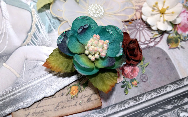 Flower Cluster Detail 2 by Dana Tatar for Scraps of Darkness Kit Club - May 2017