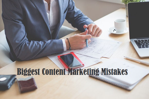 Content Marketing mistakes all time