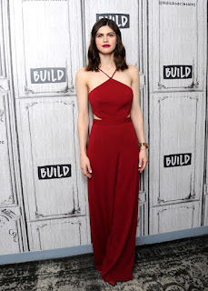 Alexandra Daddario At Build Series To Discuss When We First Met Movie In New York