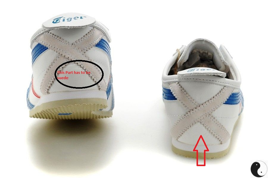 reputable site 0fcc5 1f8b6 FOOT WEAR GALLERY: HOW TO SPOT FAKE ONITSUKA TIGER