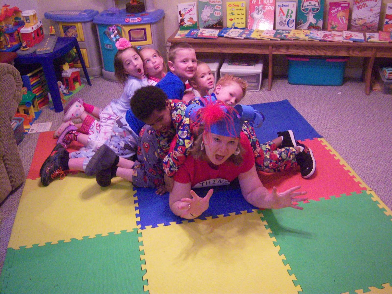 The Starting Line Preschool Wacky Wednesday
