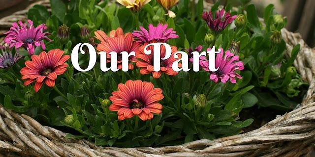 Doing Our Part - Philippians 2:12-13