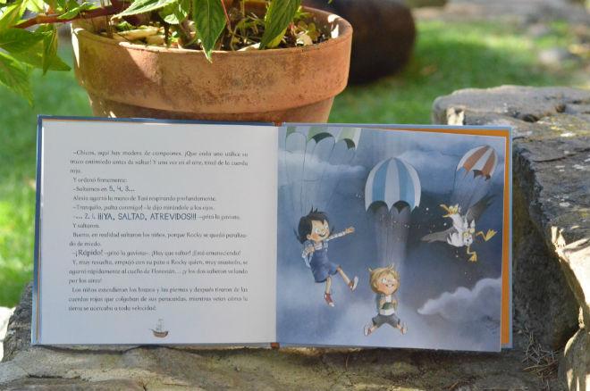 libro infantil Los atrevidos dan el gran salto, educacion emocional