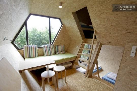 le blog de kao entre design et nature il y a cette cabane. Black Bedroom Furniture Sets. Home Design Ideas