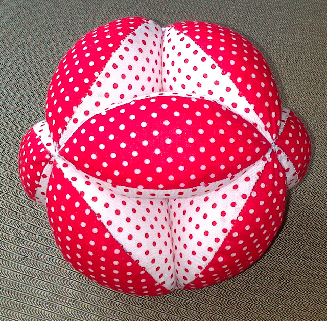tutorial pelota patchwork