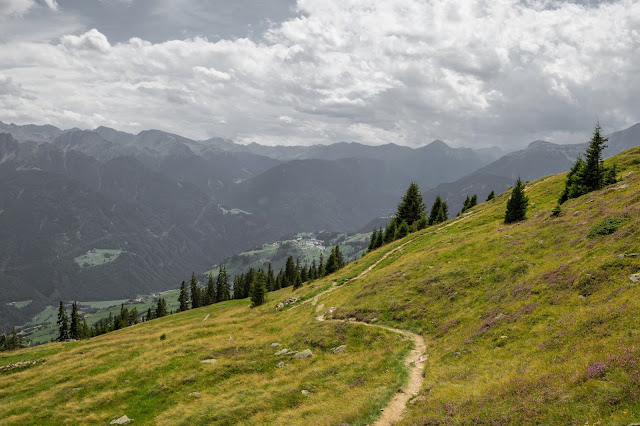 Alpenrosensteig vom Fisser Joch nach Fiss  Wanderung Serfaus-Fiss-Ladis 2