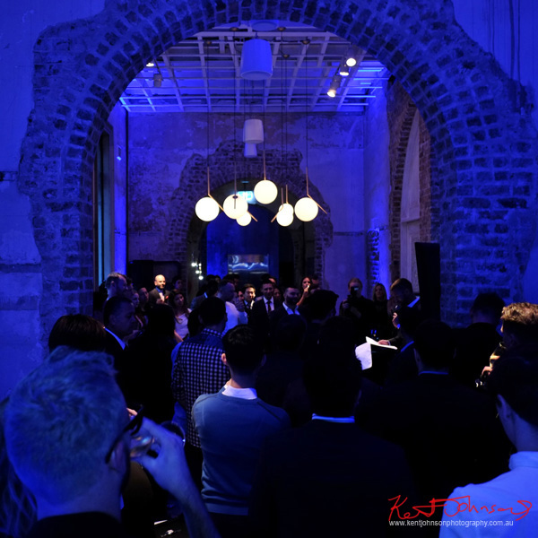 Speeches Piaget Polo S Watch Launch - Beta Bar Sydney - Photographed by Kent Johnson for Street Fashion Sydney.