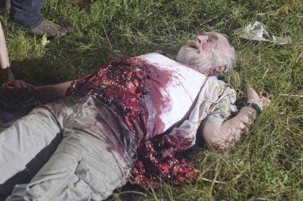 The Walking Dead muerto