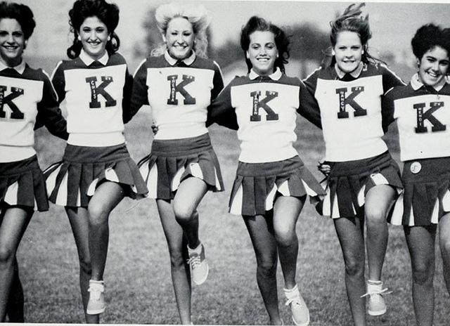 Cheerleaders from 196667  vintage everyday