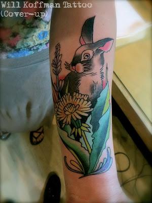 will koffman tattoo: bunny