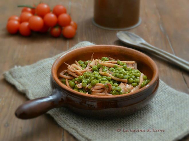 La cucina di esme calamaretti in umido con piselli - La cucina di esme ...