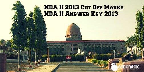 nda 2 2013 cut off marks, answers keys, solutions