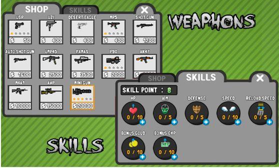 Stickman and Gun Mod Apk Latest Version