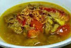 Resep praktis (mudah) angeun lada spesial (istimewa) khas banten enak, sedap, gurih, nikmat lezat