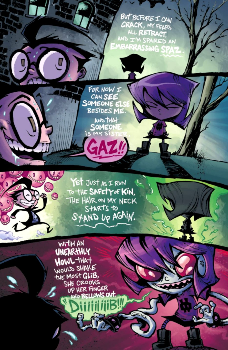 INTERVIEW Jhonen Vasquez And The INVADER ZIM Team Make Things