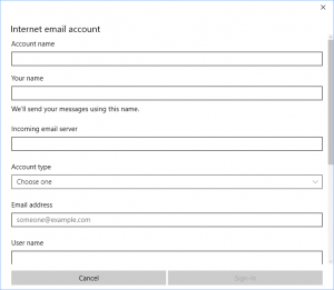 Cara Setting Email Hosting Pada Windows 10 5