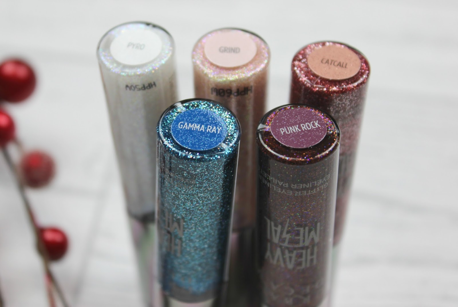 Urban Decay Heavy Metal Glitter Eyeliner Review Tattooed