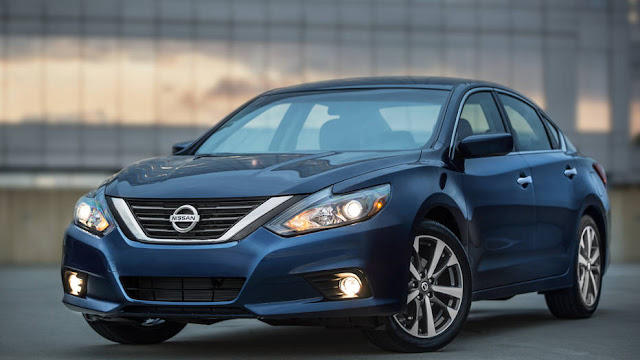 2016 all new Nissan Altima redesign front view