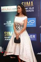 Actress Pooja Salvi Stills in White Dress at SIIMA Short Film Awards 2017 .COM 0021.JPG