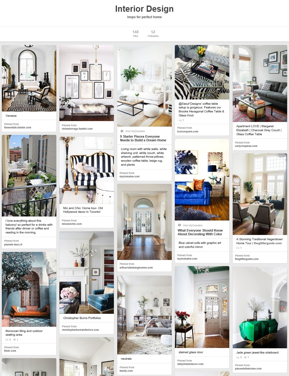 kristjaana mere pinterest interior design board