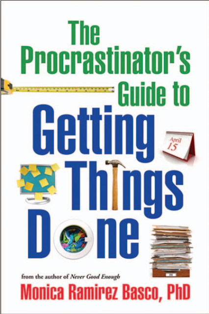 The Procrastinator's Guide to Getting Things Done Monica Ramirez Basco  cover page