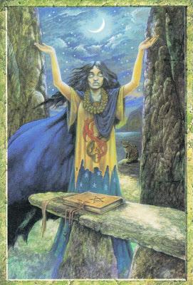 Meditación Guiada con la Suma Sacerdotisa
