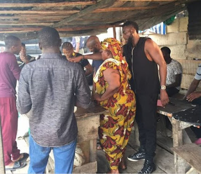 2b4 - ENTERTAINMENT: 2Face Idibia On Set With Susan Peters, Juliet Ibrahim, Gbenro Ajibade And Others (Photos)