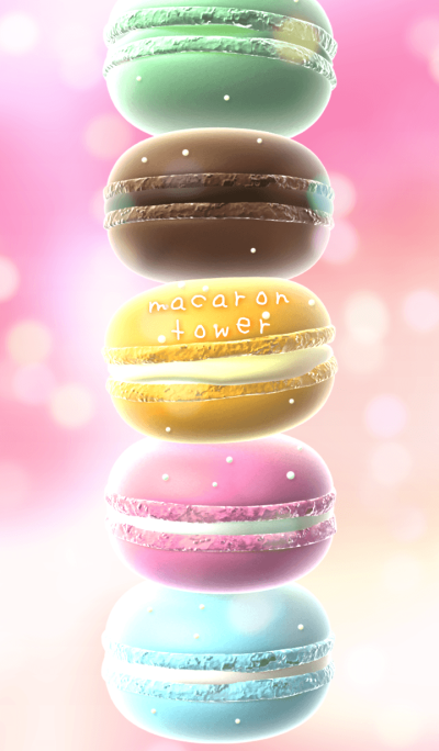 - macaron tower -