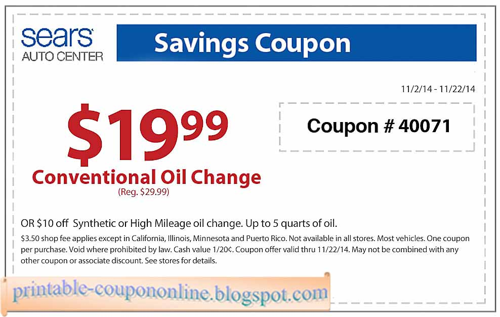Apply for Sears Charge Card to stack 5% discount with other coupons and codes. How to Save More at Sears: Free Shipping: Get free shipping on orders of $49 or more. Ship Your Way Max members get free two-day shipping on certain items and free shipping on everything else.