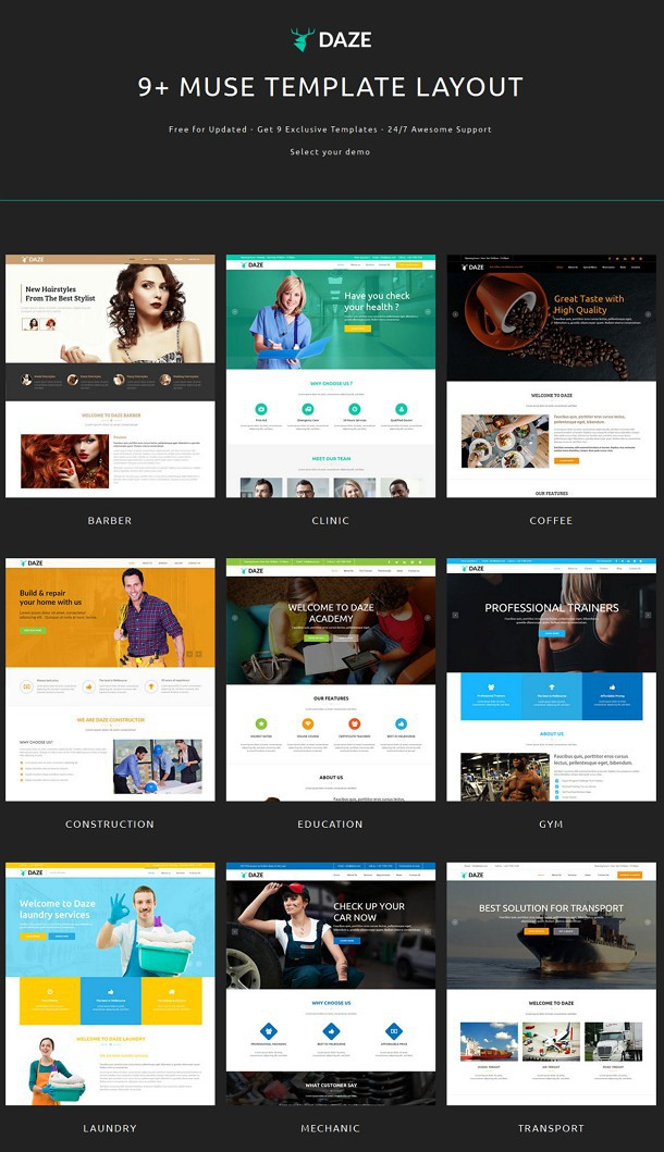 Multipurpose Muse Template