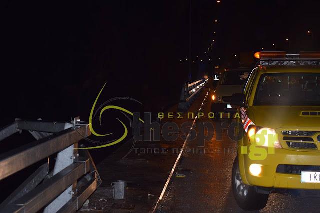 Δείτε φωτογραφίες και βίντεο από το σημείο του δυστυχήματος στην Εγνατία Οδό