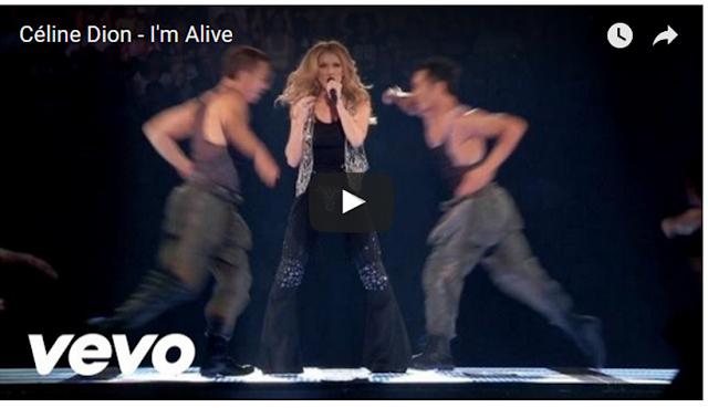 imagen Céline Dion - I'm Alive