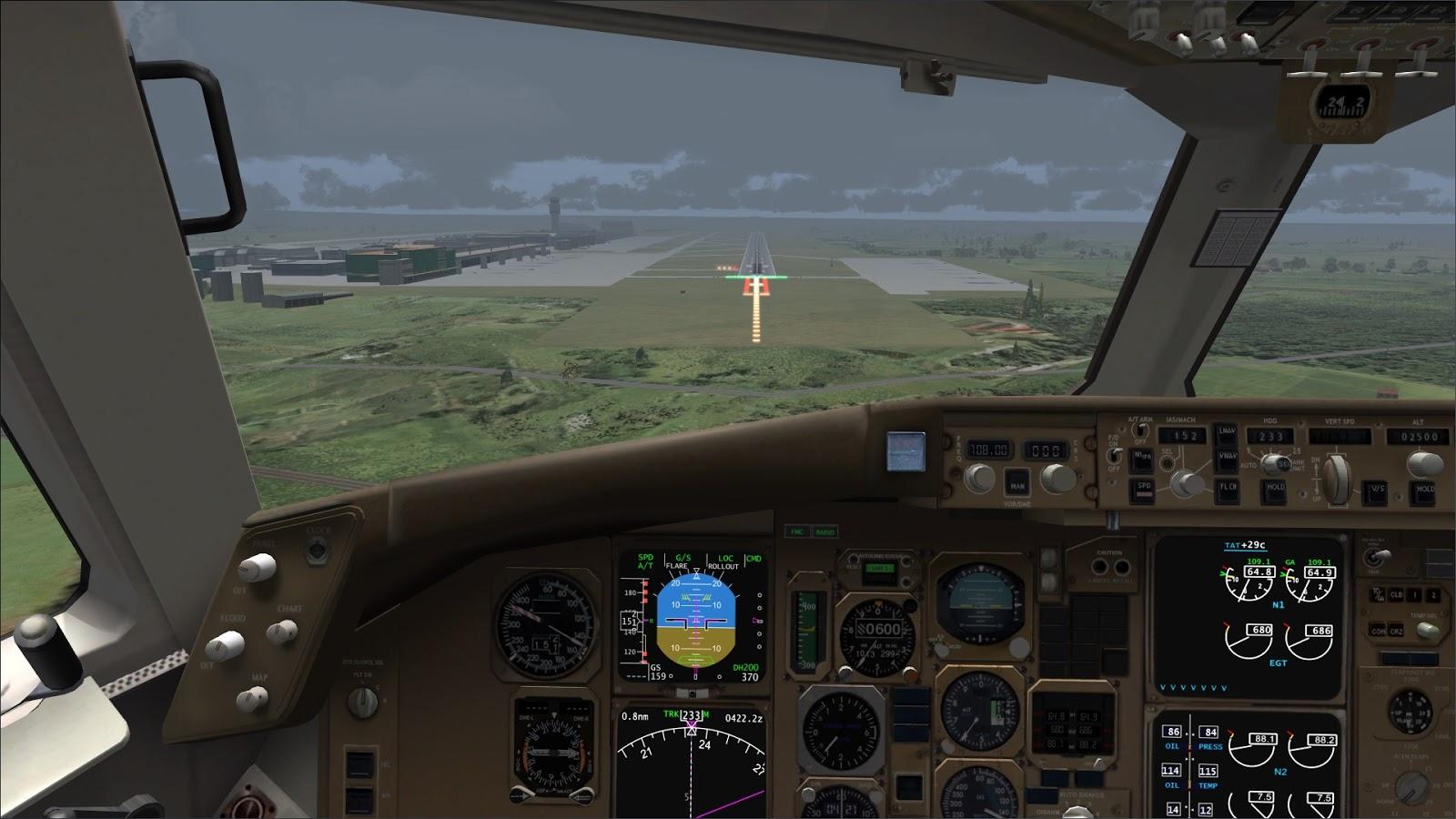 Download Level-D 767-300 er | Waktu Bersimulasi