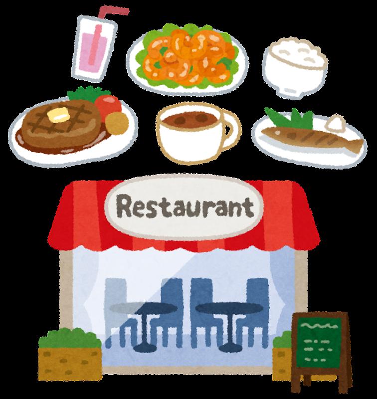 「外食 イラストや」の画像検索結果