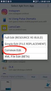 Cara edit aplikasi brand sendiri