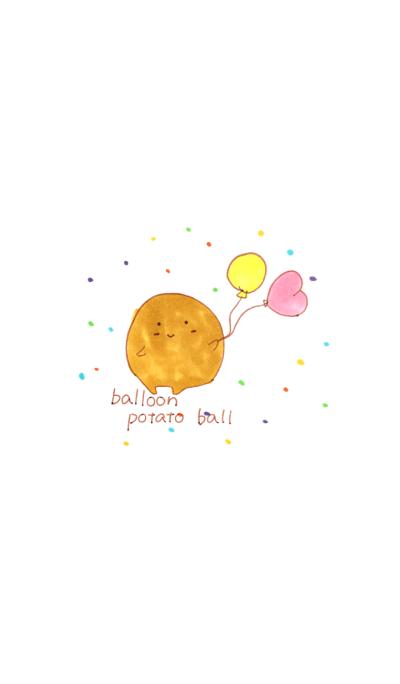 balloon potato ball
